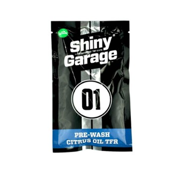 SHINY GARAGE Pre-Wash Citrus Oil TFR 50ml Preparat do Mycia Wstępnego - Saszetka