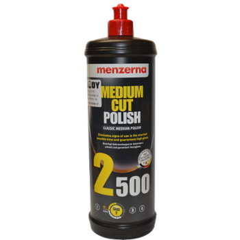 MENZERNA 2500 Medium Cut Polish 1l Pasta Polerska Średnio Ścierna