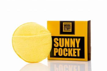 WORK STUFF Sunny Pocket Microfiber Applicator Żółty