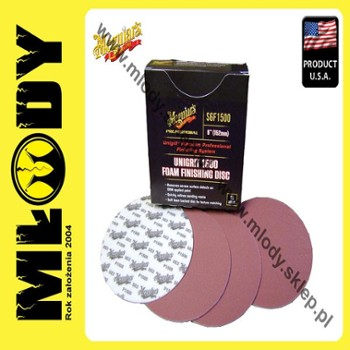 Meguiar's Unigrit 1500 Finishing Disc - 6