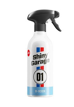 SHINY GARAGE D-Icer 500ml Odmrażacz do Szyb -60°C