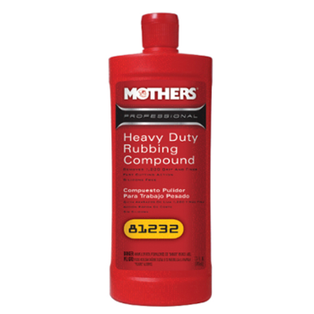MOTHERS Professional Heavy Duty Rubbing Compound 946ml Pasta Polerska Gruboziarnista