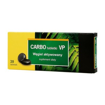 Carbo VP 150mg 20 tabl. VALEANT