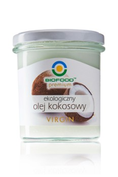 Olej kokosowy VIRGIN 260 ml BIO BioFood