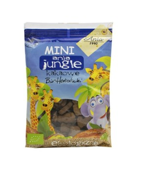 Herbatniki mini jungle kakaowe 100 g Bio