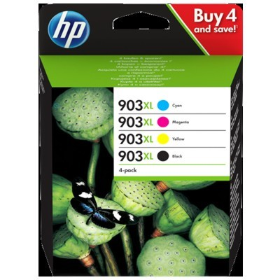 Tusze HP 903XL Multipack CMYK  3HZ51AE