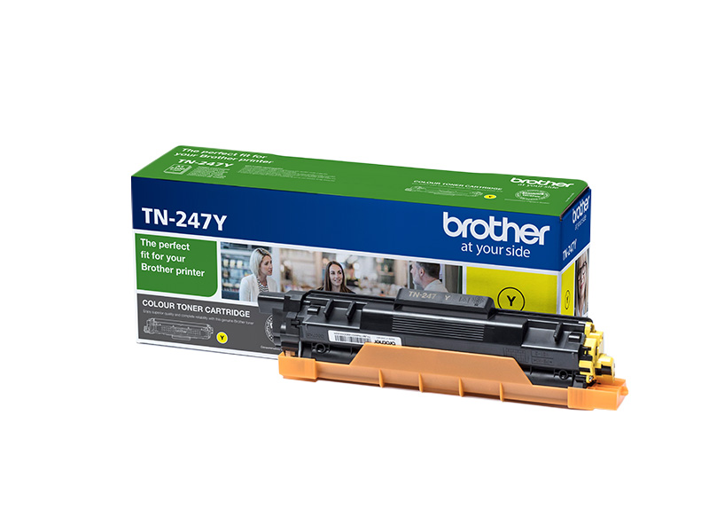 Toner BROTHER TN247  YELLOW 2,3k