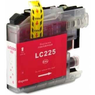 Zamiennik do BROTHER LC225 magenta XL