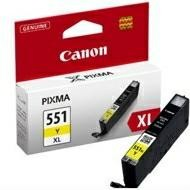 Tusz Canon CLI551Y XL Yellow