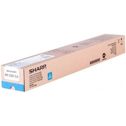 Toner SHARP MX-23GT-CA  -  cyan