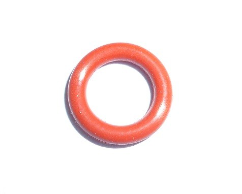 Oring 62x5 Silikonowy Red