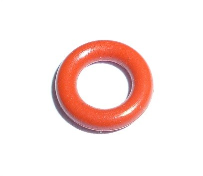 Oring 5x2 Silikonowy Red