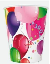kubki 250ml part ballons