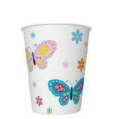 kubki 250ml butterflies