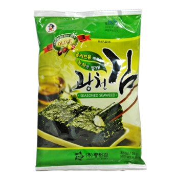 Nori with spices 25gr 전장김