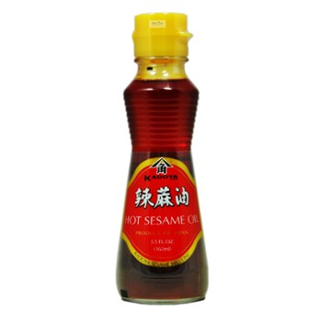 Sesame oil with chilli  KADOYA 163ml 카도야 고추기름