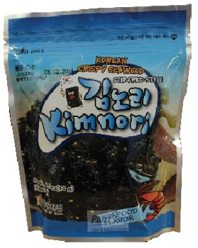 Nori Korean crisps with seafood 40gr 김자반(해물맛)