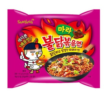 Ramen SY MALA hot Chicken 마라 불닭볶음면