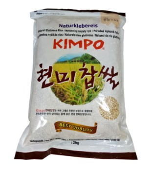 Kimpo rice sticky brown sweet (NK)2kg 현미찹쌀