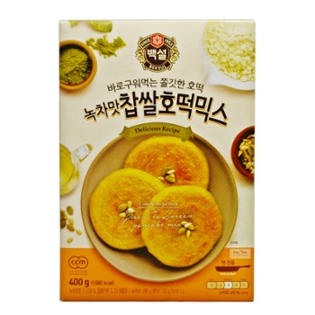 Mąka MIX Hot Cake CJ (green tea) 400g 녹차 호떡 믹스