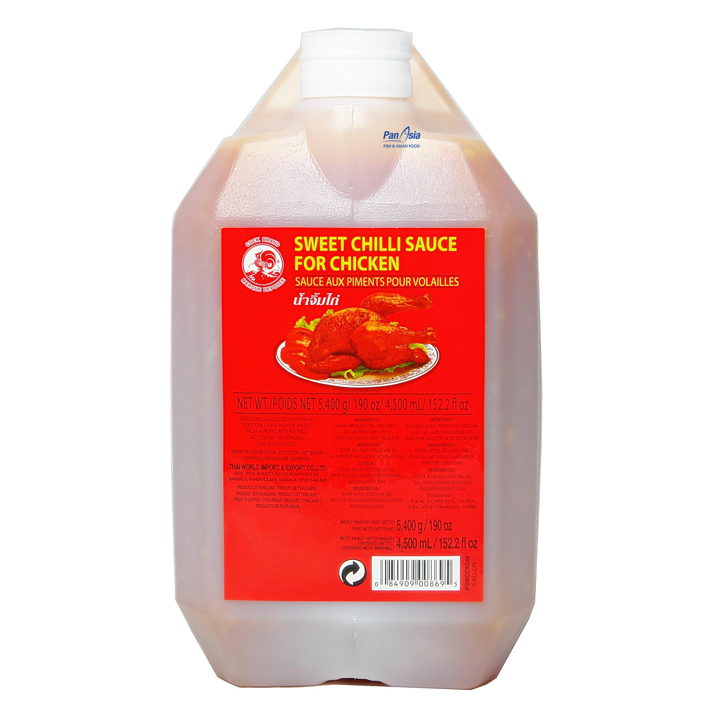 Sos Chili do kurczaka 4,5L