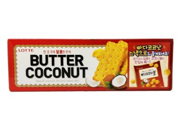Butter Coconut Biscuits 빠다 코코넛