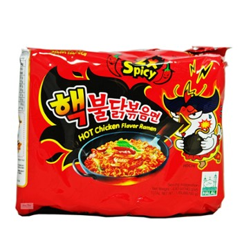 Ramen SY Extream hot Chicken 140g x5