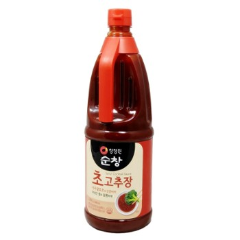 Vinegared hot pepper bean paste 초고추장