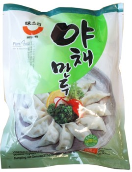 Mandu with vegetables 675g Misori 야채만두 (미소리)