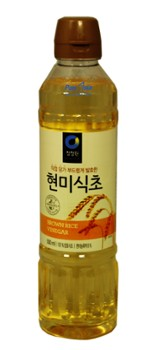 Rice vinegar CJW from natural rice 500ml 청정원 현미 식초