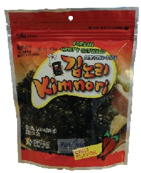 Nori chipsy koreańskie z chilli 40g