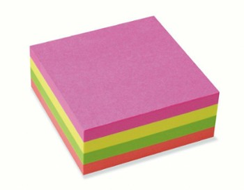 KARTKI POST-IT 76x76 /320k NEON ESSELTE