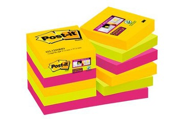 KARTKI POST-IT 47,6x47,6 RIO 12x90k