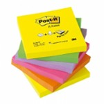 KARTKI POST-IT 76x76 ZZ 3M R330 NEON 6BL