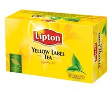 HERBATA LIPTON/50 YELLOW LABEL