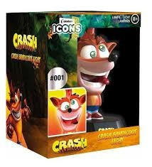 CRASH BANDICOOT LAMPE ICONE CRASH 10 CM