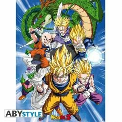 DRAGON BALL POSTER CELL SAGA