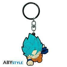 DRAGON BALL SUPER KEYCHAIN PVC GOKU