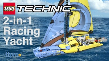 LEGO TECHNIC RACING YACHT 2IN1