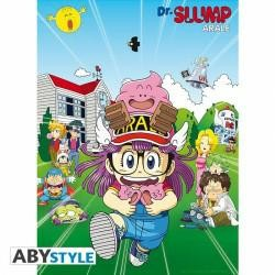 DR SLUMP POSTER PENGUIN VILLAGE