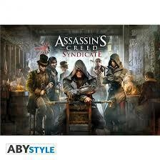 ASSASSINS CREED POSTER SYNDICATE JAQUETT