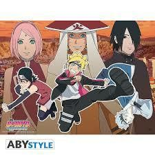 BORUTO POSTER NEW TEAM 7