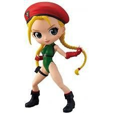 STREET FIGHTER CAMMY RED GREEN Q POSKET