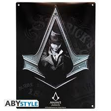 ASSASSINS PLAQUE METAL ASC SYNDICATE