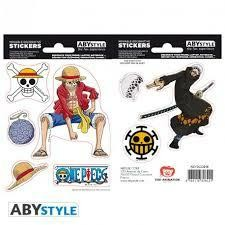 ONE PIECE STICKERS 16 X 11 LUFFY