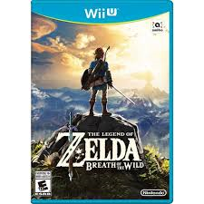 LEGEND OF ZELDA BREATH OF THE WI WII U