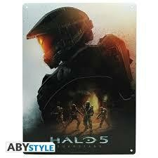 HALO PLAQUE METAL KEYART BROCH