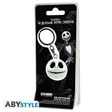 NIGHTMARE BEFORE XMAS PORTE CLES 3D JACK