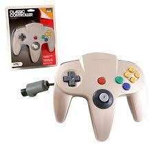 N64 CLASSIC CONTROLLER GOLD