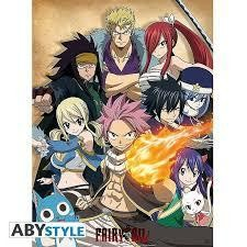 FAIRY TAIL POSTER GUILDE 52X38